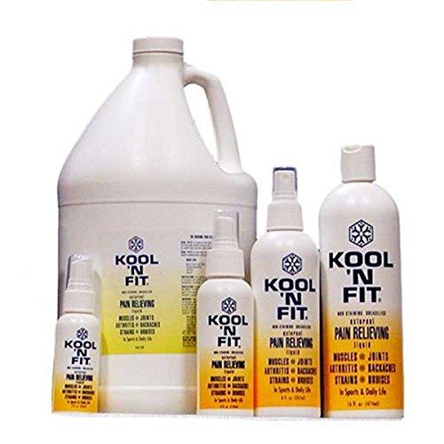 Kool 'N Fit Pain Relieving Liquid-2 oz