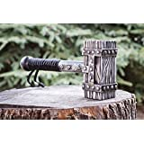 Bushcraft Viking THOR hammer, Hand forged hammer, Handmade custom Scandinavian crafted hammer tool, Best men groomsmen father engraved gift