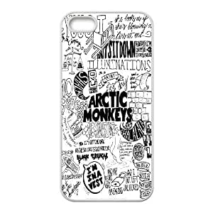 High quality Arctic Monkey band, Arctic Monkey logo, Rock band music protective For Diy For Touch 5 Case Cover LHSB9718140