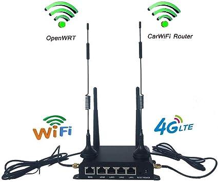 KuWFi OpenWrt 300 Mbps 4G Tarjeta SIM WiFi Router CPE ...