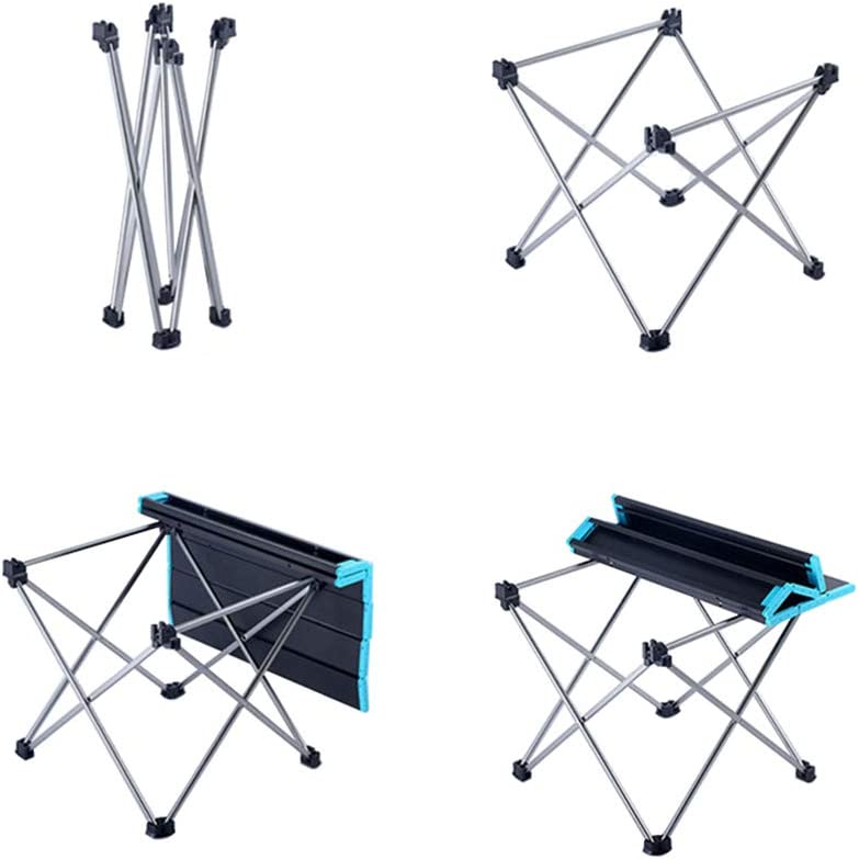 songgaogao outdoor picnic folding table mini portable mountaineering camping barbecue table