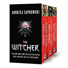 The Witcher Boxed Set: Blood of Elves, The Time of Contempt, Baptism of Fire;Witcher