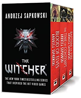 Amazon the world of the witcher video game compendium the witcher boxed set blood of elves the time of contempt baptism of solutioingenieria Image collections