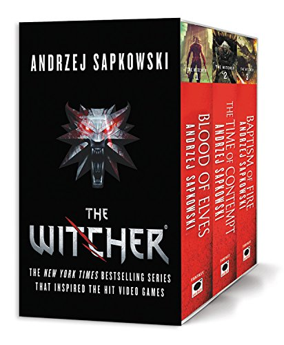 The Witcher Boxed Set: Blood of Elves, The Time of Contempt, Baptism of Fire ()