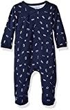Petit Lem Baby Footed Sleeper, Letter, 3M