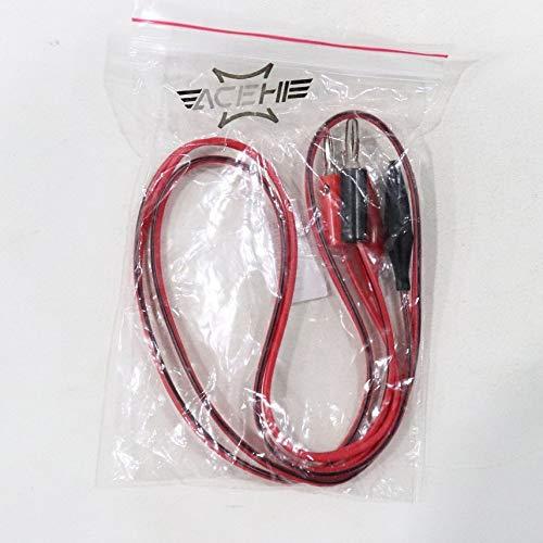 fghdf Sonda de cocodrilo conductores de prueba Clip Pin enchufe de pl/átano del cable Para mult/ímetro digital