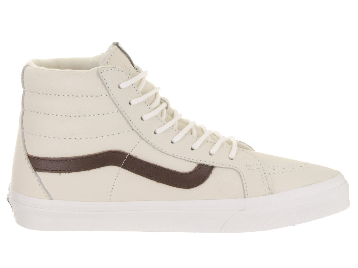 Vans Men's Sk8-Hi(Tm) Core Classics B07DH2J2NF 10.5 B(M) US Women / 9 D(M) US Men|(Leather) Blcdblc/Ptngsoil