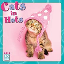 2019 Cats in Hats 16-Month Wall Calendar: by Sellers Publishing, 12x12 (CA-0378)