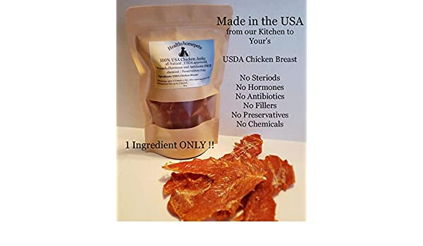 Amazon com : healthyhomepets 100% Natural Chicken Breast