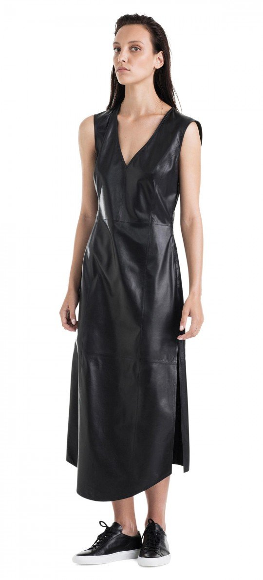ASENA and ALEX Rico, Leather Dress (Medium)