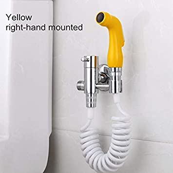 Easy For Installation Hand Bidet Shower Toilet Jet Cleaner Portable Bidet Bathroom Shower Spray Spring Hose Toilet Cleaner J H Amazon Co Uk Diy Tools