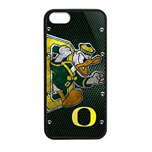 Custom Unique Design Oregon Ducks Iphone 5 5S Silicone Case
