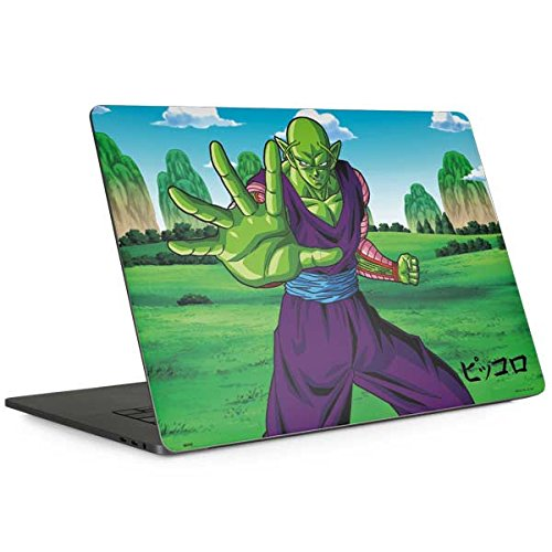 Skinit Dragon Ball Z MacBook Pro 15-inch with Touch Bar (2016-18) Skin - Piccolo Power Punch Design - Ultra Thin, Lightweight Vinyl Decal Protection by Skinit