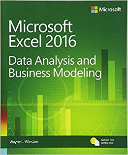 microsoft excel data analysis and business modeling amazoncouk wayne winston 9781509304219 books