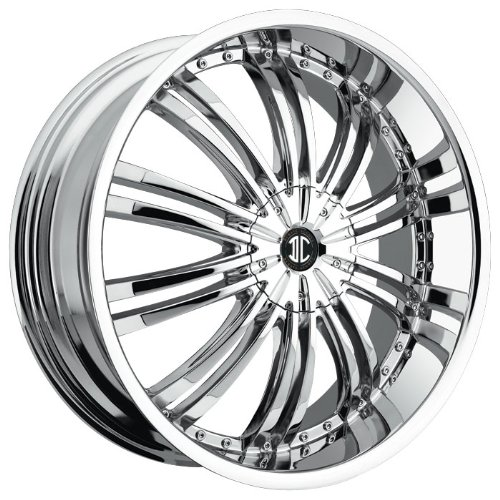 """2Crave Alloy No.01 Wheel with Chrome Finish (16x7""""/8x100mm)"""