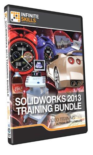 Learning SolidWorks 2013 Bundle - Training DVD by Infiniteskills