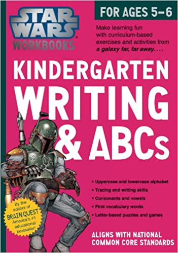 Star Wars Workbook: Kindergarten Writing and ABCs (Star Wars ...