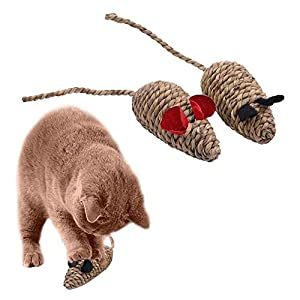Pets Empire B-25 Natural Seaweed Catcher Mouse Toy Catnip for Cats