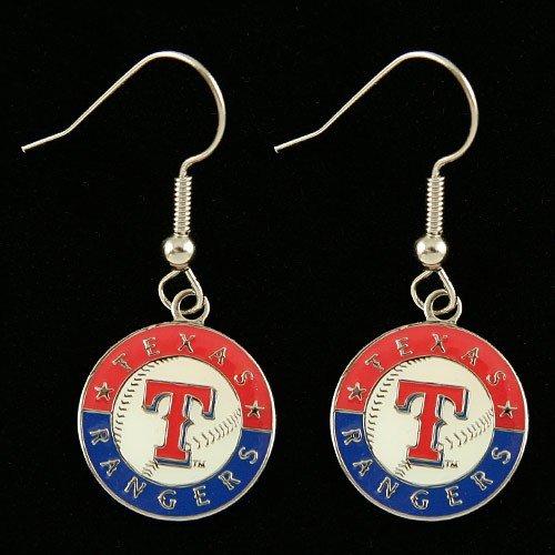 texas rangers earrings - 9