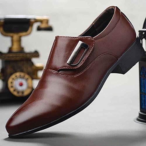 Offerta Marrone Traforate di Scarpe Moderne Morbide Uomo Pelle Stringate Pelle Pelle Stringate Scarpe Classiche Casual SOMESUN Scarpe Lavoro Eleganti in 3 Scarpe in da Eleganti xBHX4gq