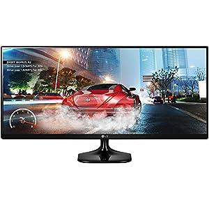"LG 2 34UM57 34"" UltraWide 21:9 IPS WFHD LED Cinema Screen Gaming Monitors Bundle- Includes 2 Monitors by LG"
