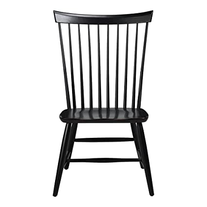 Amazon Com Ethan Allen Berkshire Side Chair Charcoal Chairs
