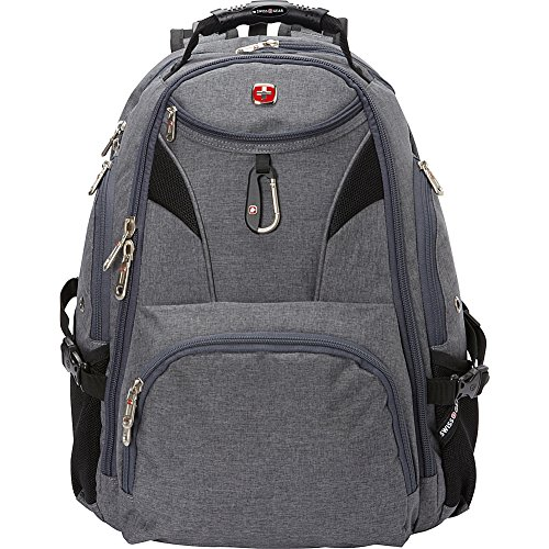 SwissGear Travel Gear 5977 Laptop Backpack- (Grey) by Swiss Gear (Image #3)