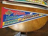 1997 Cleveland Indians vs Florida Marlins World Series pennant