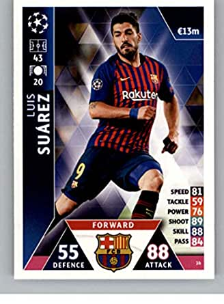 Amazon Com 2018 19 Topps Uefa Champions League Match