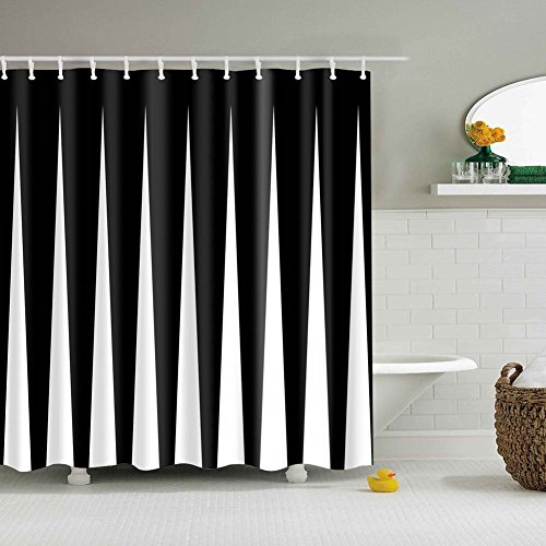 Delicate Xinhuaya Clean Safe Letters Stripes Printed Polyester Funny Amazing Shower Curtain For Bathroom Bathtub Home