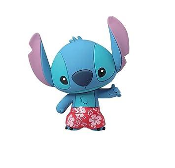 Llavero Disney Lilo & Stitch Disfraz Playa Monogram Goma 7 ...
