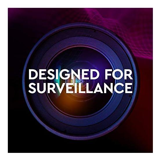 """WD Purple 10TB Surveillance Hard Drive - 7200 RPM Class, SATA 6 Gb/s, 256 MB Cache, 3.5"""" - WD101PURZ 51ckLdGalXL. SS555"""