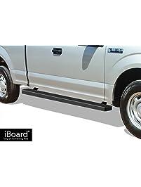 Aps Iboard Running Boards  Matte Black Custom Fit   Ford F Super