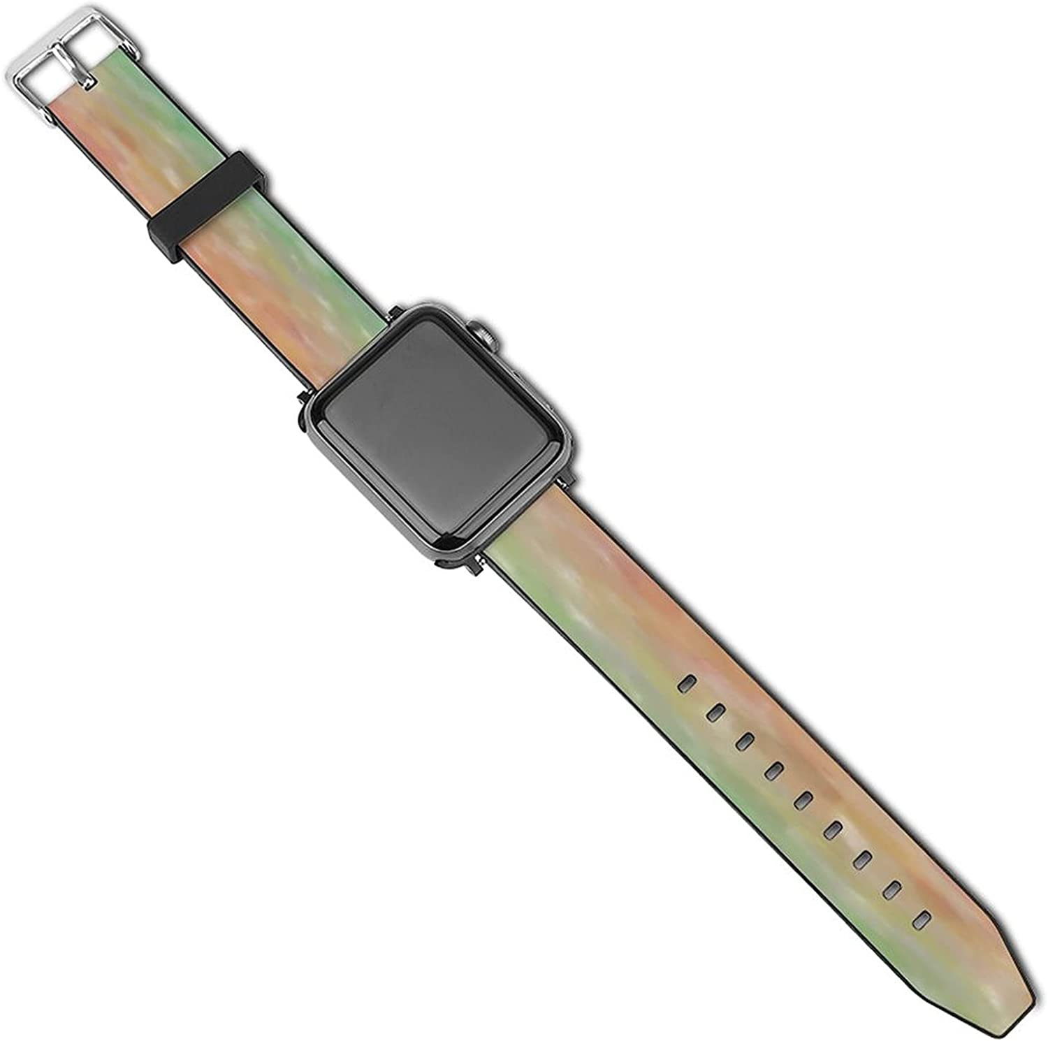 Unisex Adjustable Elastic Band Compatible with Apple Watch Bands 38mm 40mm 42mm 44mm Stretchy Soft Strap Replacement Wristband for iWatch Series 5/4/3/2/1