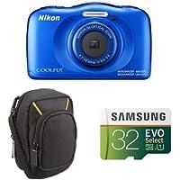 Nikon COOLPIX W100 (Blue) Starter Bundles(1)