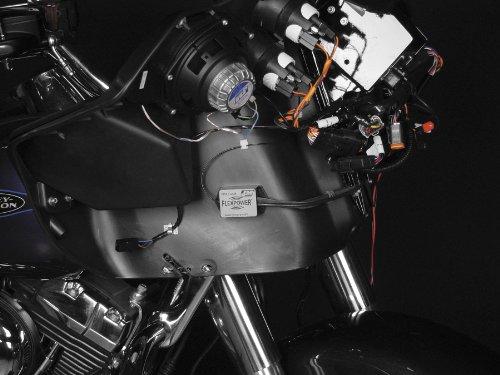 J&M Hideaway CB Antenna for Harley Batwing FLTR Fairing 89-10