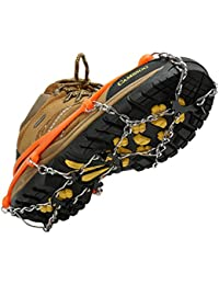 Traction Cleats Micro Ice Spikes for Shoe/Boots Safe for Walking, Jogging, Climbing and Hiking