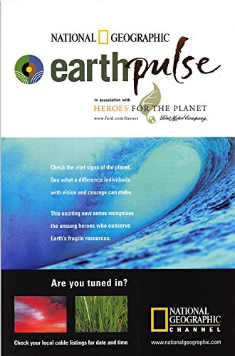 Print Ad 2001 Earth pulse in association with Heroes for the -