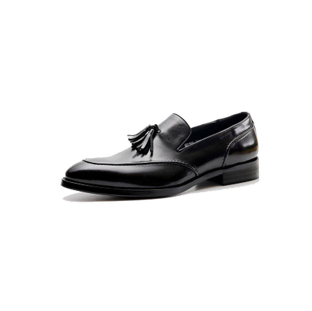 Zapatos Perezosos Ocasionales Respirables del Negocio De La Moda De La Marea De Los Hombres 40 EU|Black