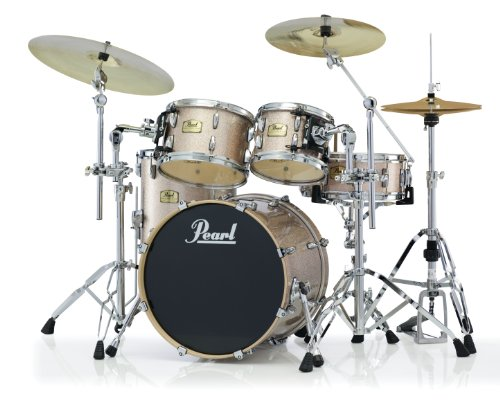 Pearl Masters Studio - Pearl Session Studio Classic SSC924XUP/C 4-Piece Drum Shell Pack, Vintage Copper Sparkle