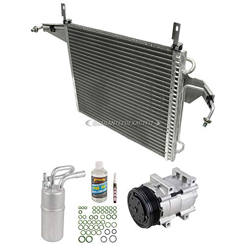 A/C Kit w/AC Compressor Condenser Drier For Ford Ranger Mazda B3000 B4000 - BuyAutoParts 60-82419CK New