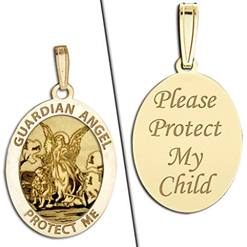 14k Angel Medal (Guardian Angel