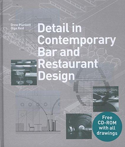Detail In Contemporary Bar And Restaurant Design Detailing For Interior Drew Plunkett Olga Reid 0001780670605 Amazon Books