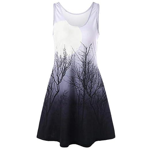 862c2a919d8 Amazon.com  Women Fashion Tops Women Musical Note O Neck T-Shirt Sleeveless  Casual Tops Blouse Vest Tank  Clothing