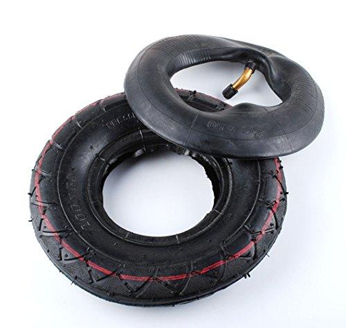 2' 500 Label (200X50(8x2'')Inner Tube&Tire Set for Razor E100, E200 Mongoose Scooter E-Scooter)