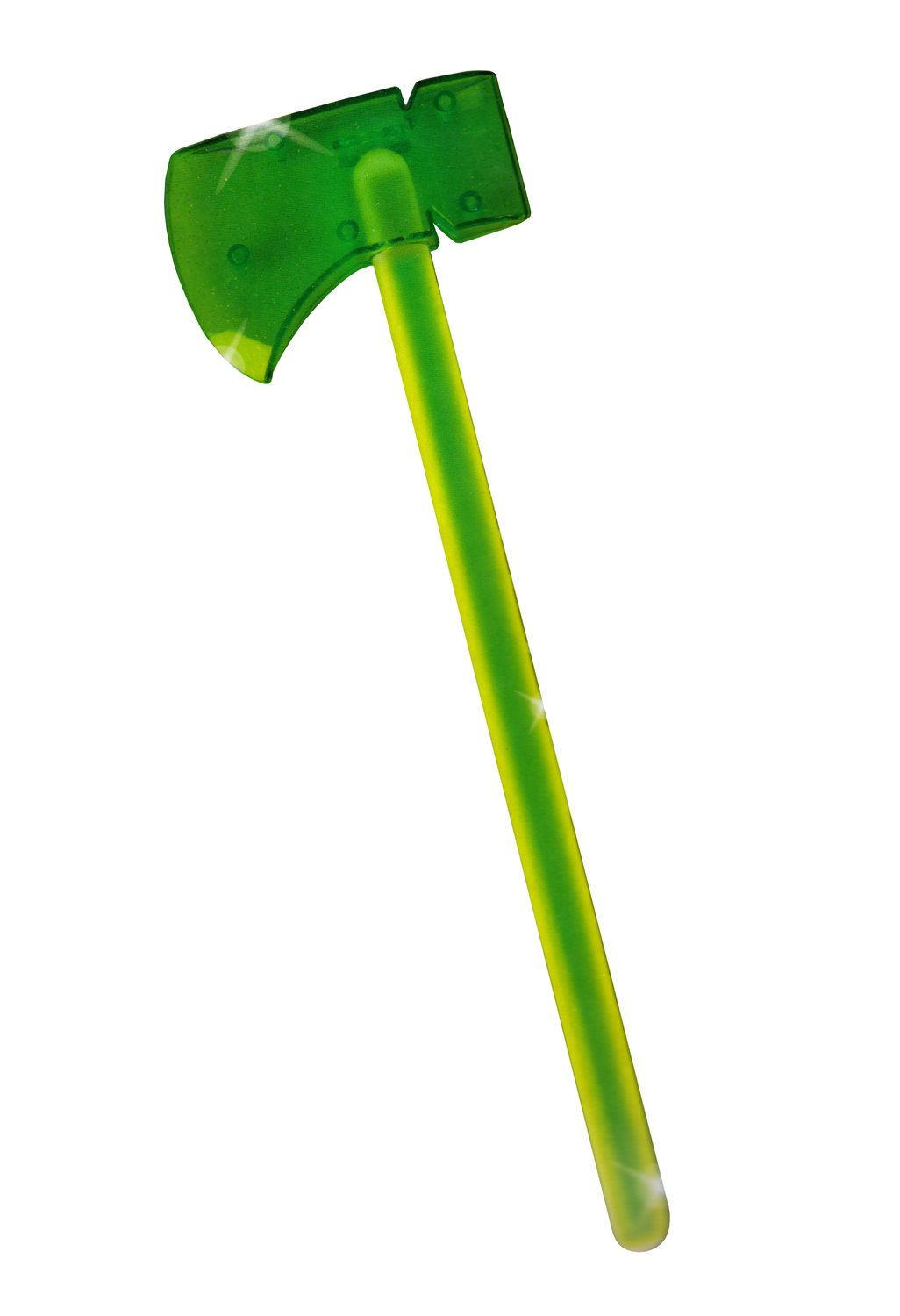 2 x Glow In The Dark Mini Axes Childrens Halloween Costume Accessory RMS International 46-0164