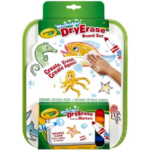 Crayola Erase Anywhere Washable Marker
