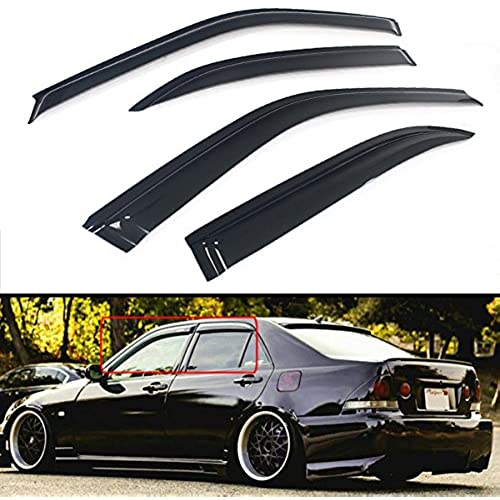 FOR 2000 2005 LEXUS IS300 ALTEZZA JDM STYLE SMOKE WINDOW VISOR RAIN GUARD