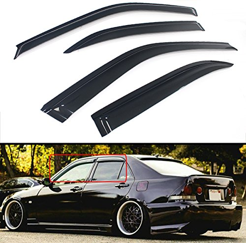 Cuztom Tuning FOR 2000-2005 LEXUS IS300 ALTEZZA JDM STYLE SMOKE WINDOW VISOR RAIN GUARD