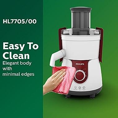 Philips Viva HL7705/00 700-Watt Juicer Mixer Grinder 12
